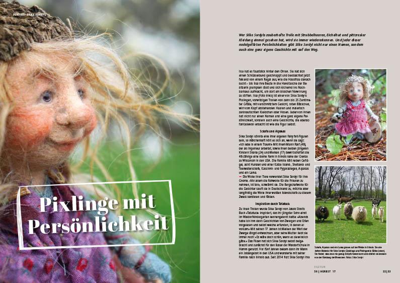 Filzfun Issue 56 Autumn 2017 Filzfun