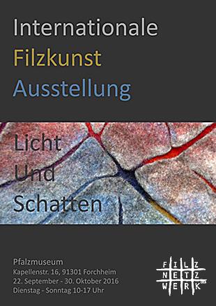 Plakat Filzausstellung
