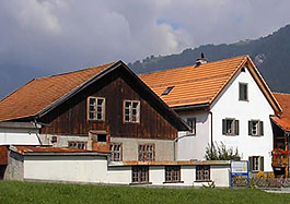 Wollspinnerei Vetsch in Pragg-Jenaz/Schweiz